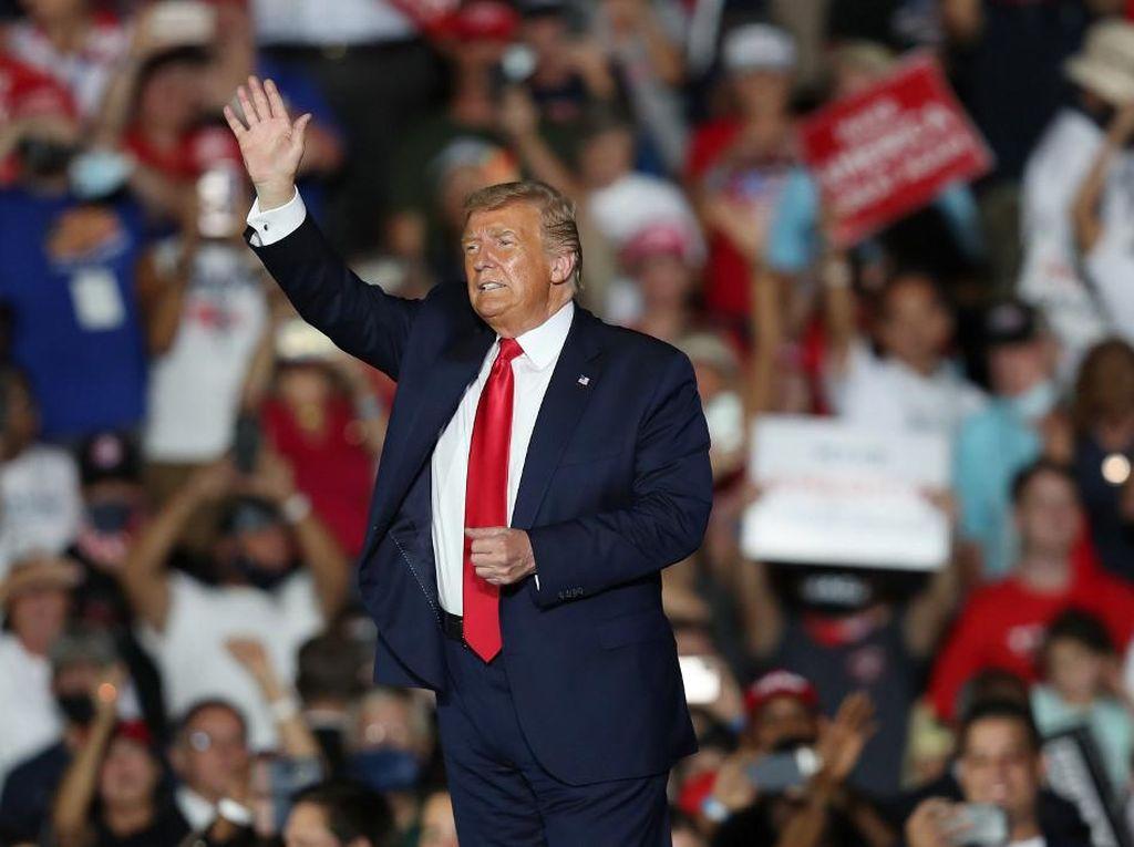 Bertarung Sengit, Trump Akhirnya Kalahkan Biden di Florida