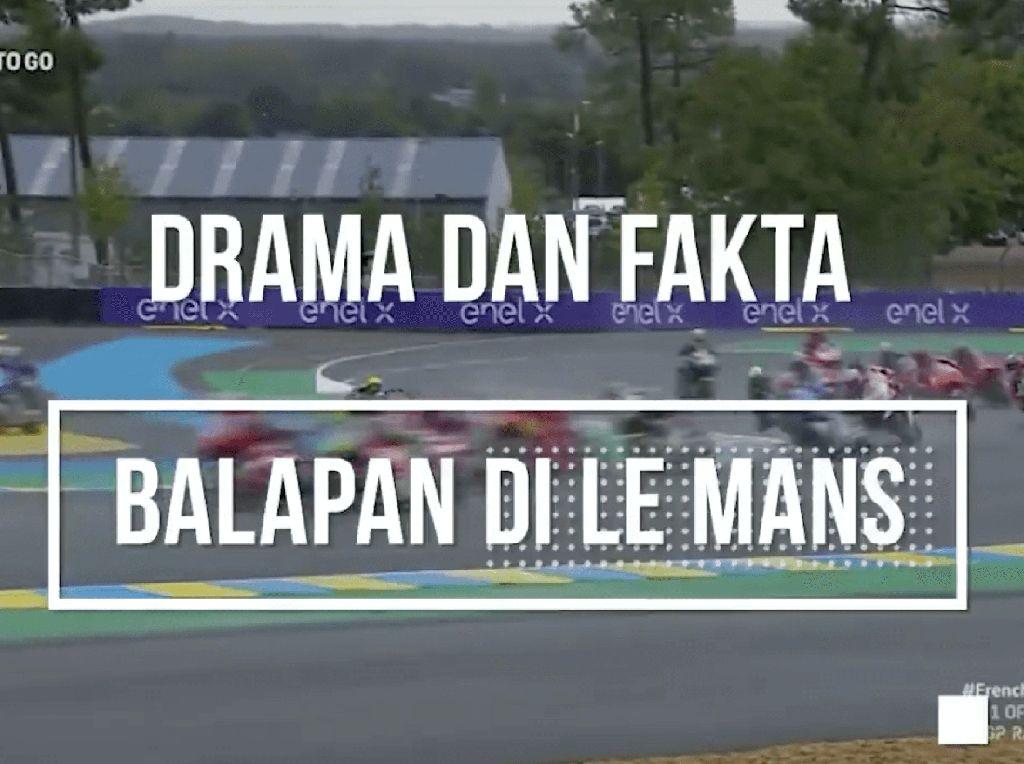 Drama dan Fakta MotoGP Prancis
