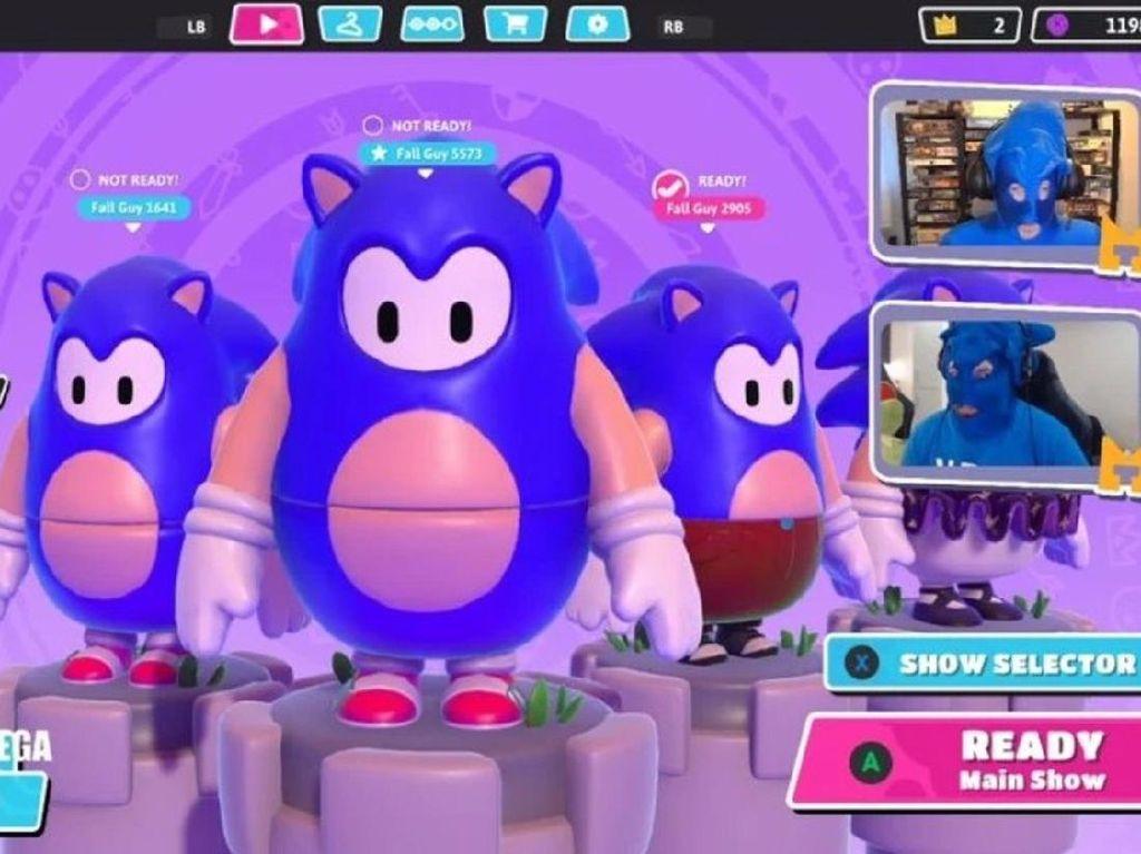Fall Guys Bakal Tampil ala Sonic the Hedgehog