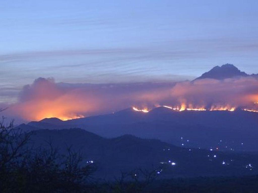 Penyebab Kebakaran di Gunung Kilimanjaro Telah Diketahui