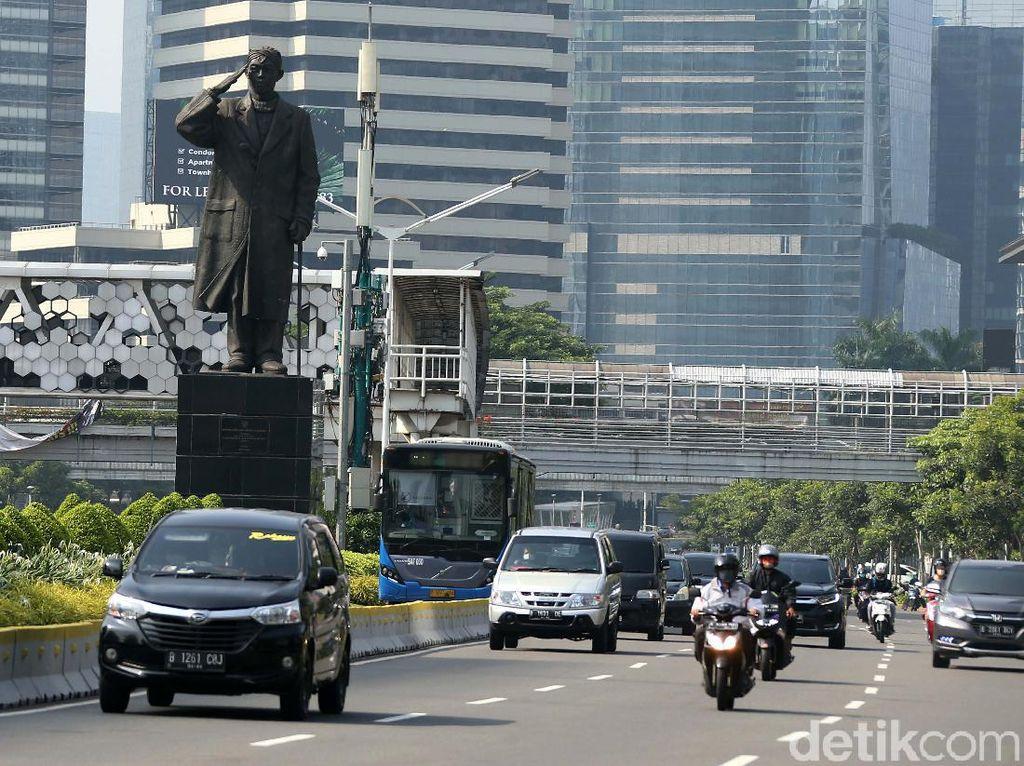 Ada Car dan Crowd Free Night, Ini Pengalihan Lalin di Sudirman-Thamrin