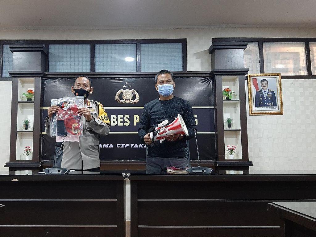 Ketua LMND Palembang Ditangkap Saat Hendak Aksi Tolak Omnibus Law Kemarin