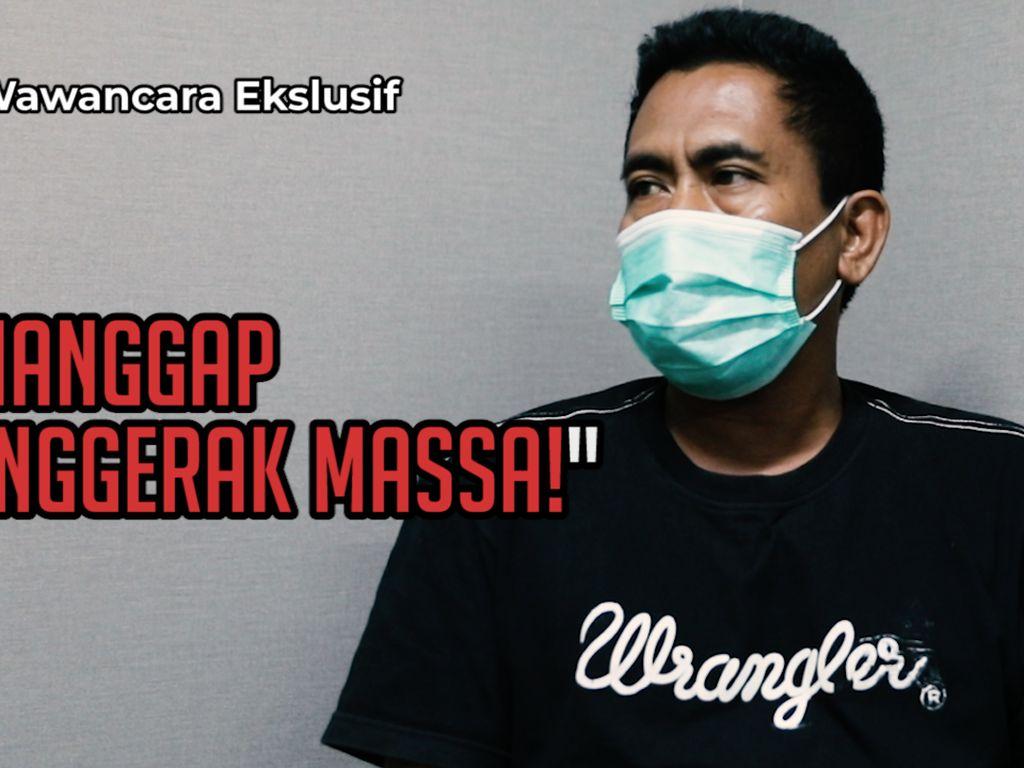 Video Eksklusif! Pengakuan Ketua KAMI Medan Terkait Demo Ricuh