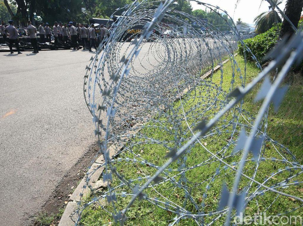 Ada Demo di Kedubes Prancis, 1.200 Personel Polisi Disiagakan