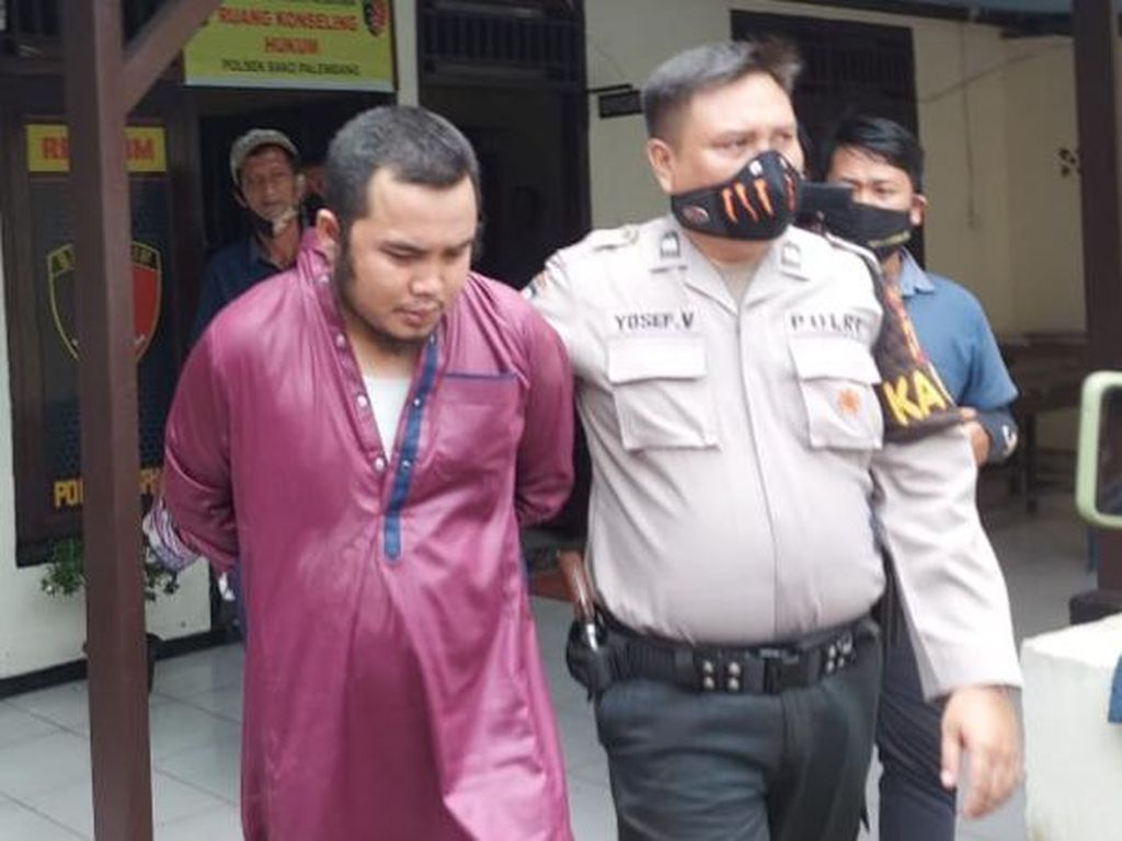 Guru Tahfiz di Palembang Cabuli Murid, Modusnya Latihan Pernapasan