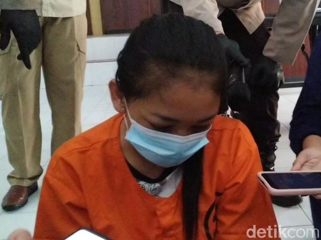 Wanita Ini Bawa Odol Rasa Sabu untuk Suami yang Dibui di Polresta Blitar