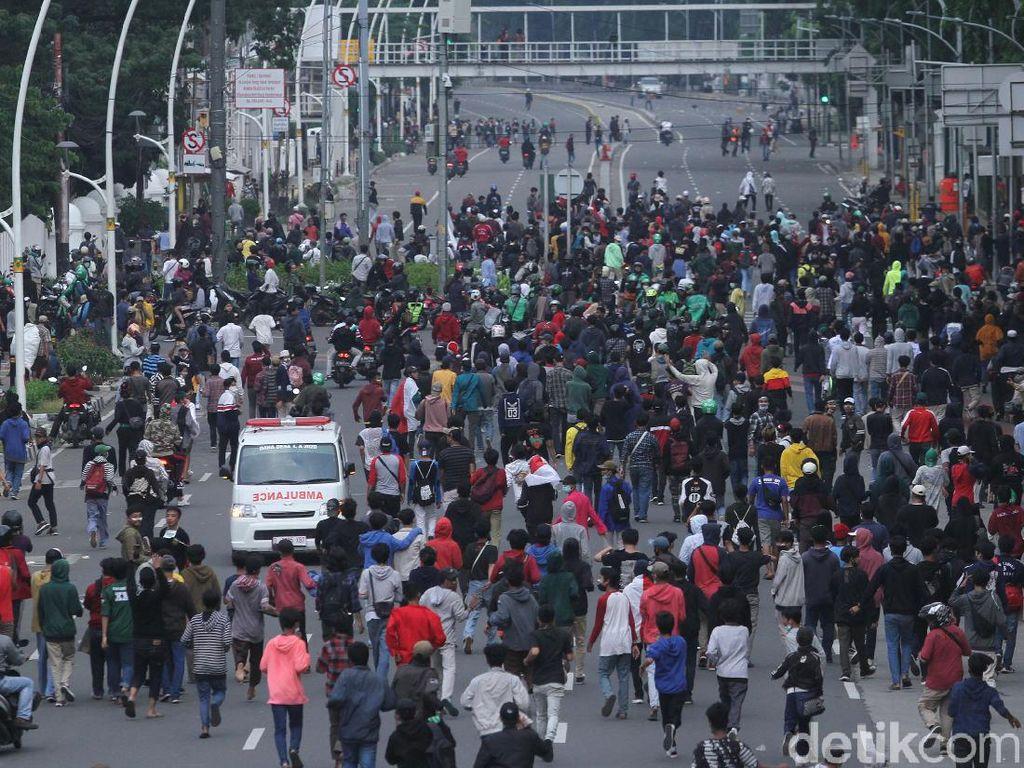 Polisi Amankan 5 Anak SD di Demo 13 Oktober, Ngaku Diajak Buat Rusuh