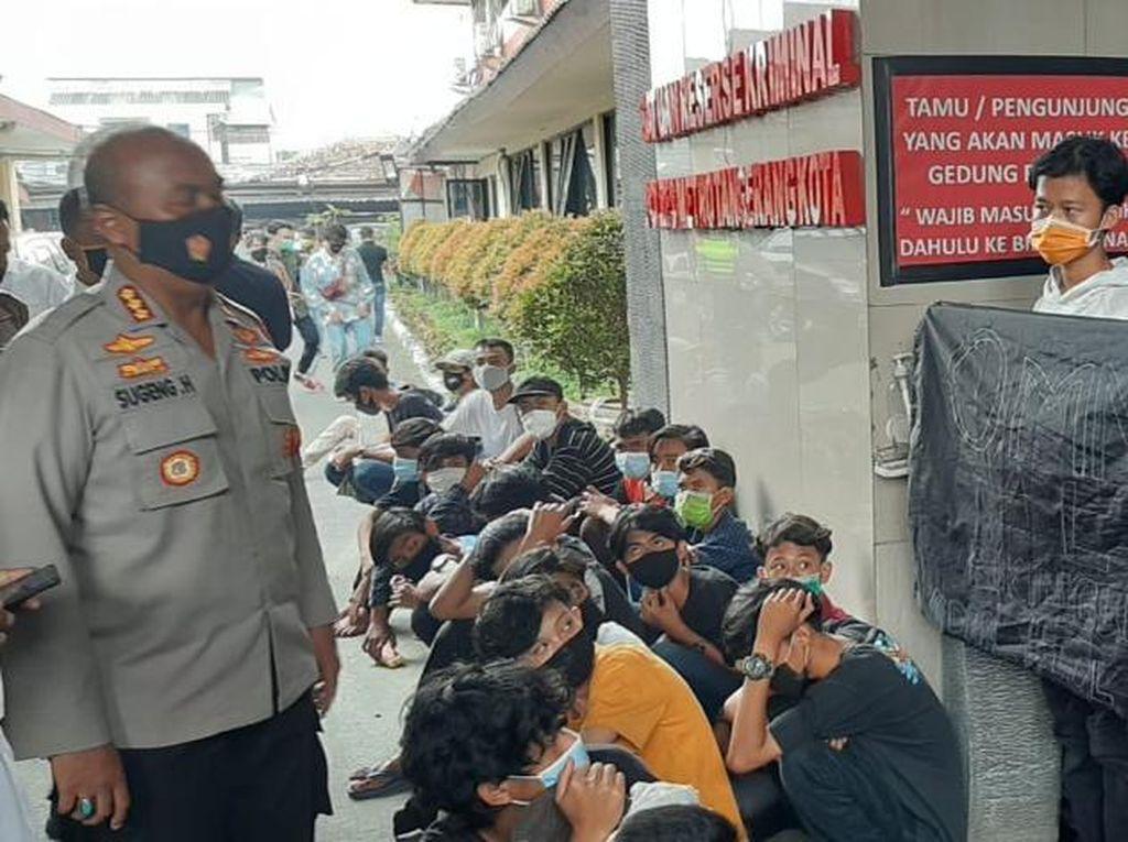 140 Pelajar-Pengangguran Mau Demo Diciduk di Tangerang, Ada yang Bawa Pylox