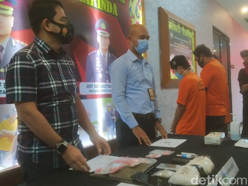 Napi di Samarinda Pesan 1 Kg Sabu dari Aceh, Janjikan Kurir Rp 10 Juta