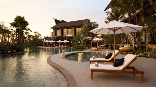 Pemandangan area di Pullman Ciawi Vimala Hills Resort Spa & Convention. (Dok. Pullman)