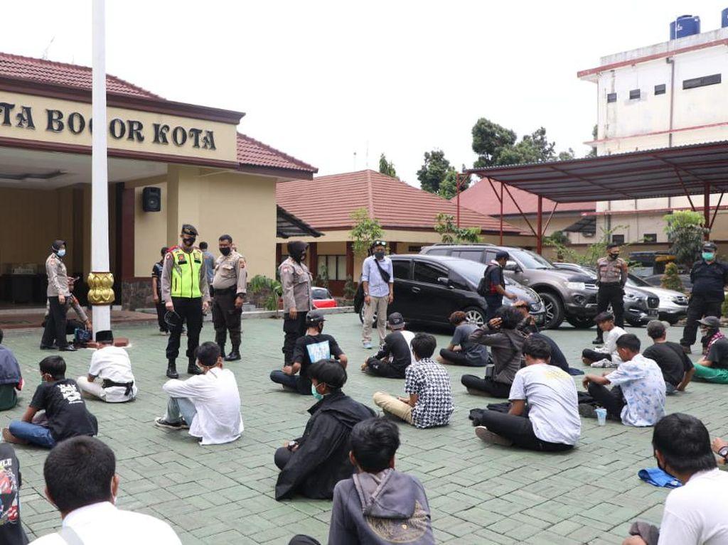 42 Pelajar Diciduk di Stasiun Bogor, Polisi: Alasannya Mau Nonton Demo
