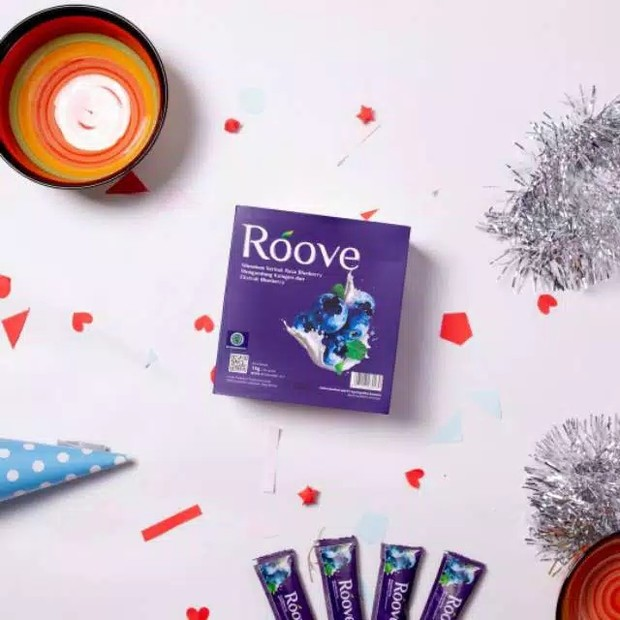 Roove collagen bluberry drink