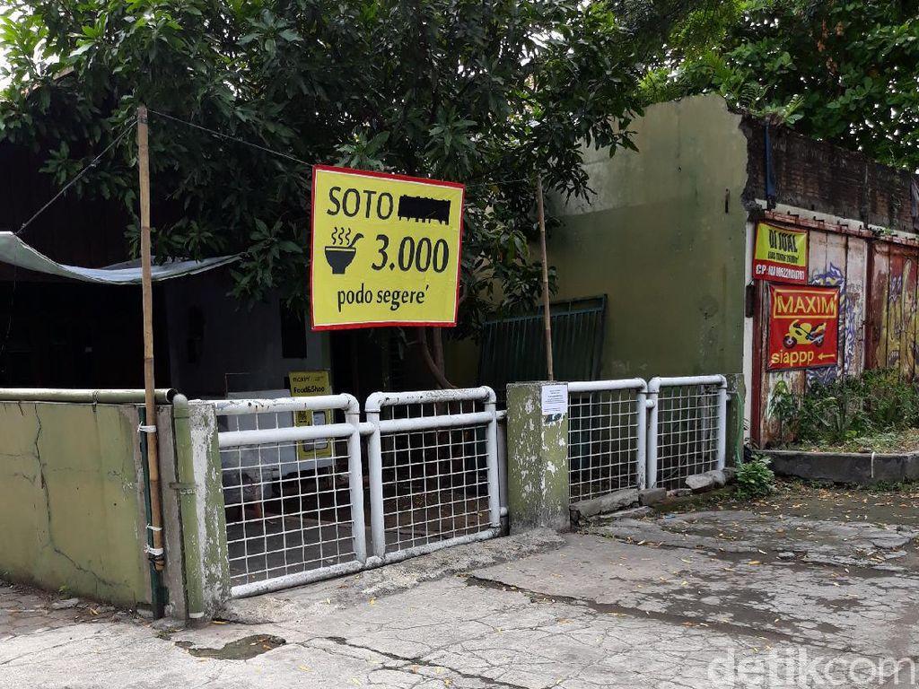 1 Penjual Soto di Jebres Solo Kena Corona, Pembeli Diimbau Melapor