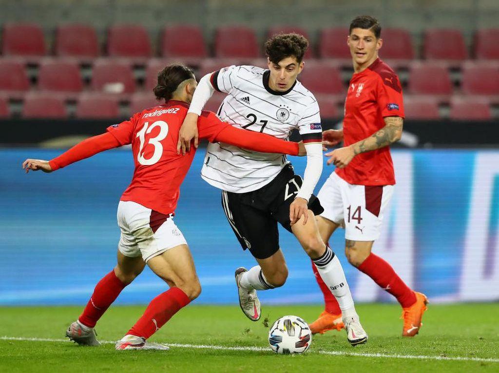Jerman Vs Swiss: Die Mannschaft Tertahan 3-3