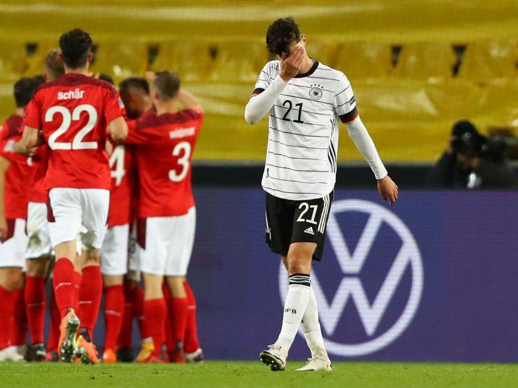 Jerman vs Swiss: Die Mannschaft Telat Panas