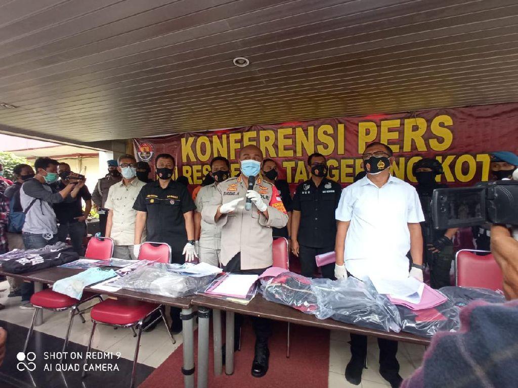 6 Orang Jadi Tersangka Demo Ricuh 8 Oktober di Tangerang