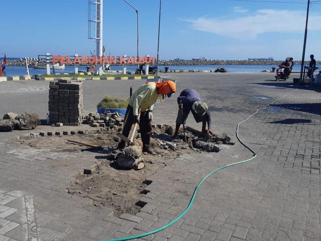 Program Padat Karya Ditjen Perhubungan Laut Serap 3.289 Tenaga Kerja