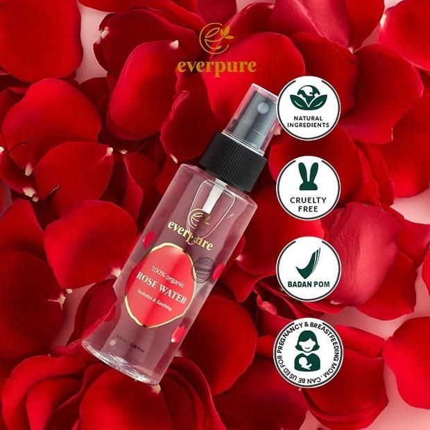 Everpure rose water.
