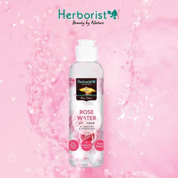 Rekomendasi air mawar.