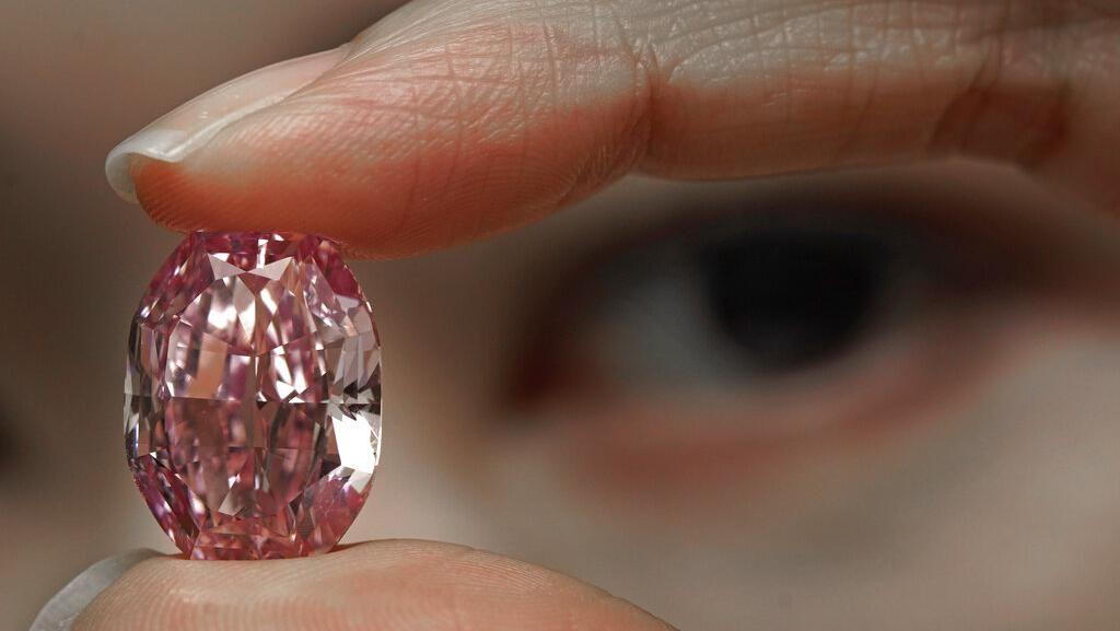 Foto Berlian Cantik Super Langka Ini Siap Dilelang