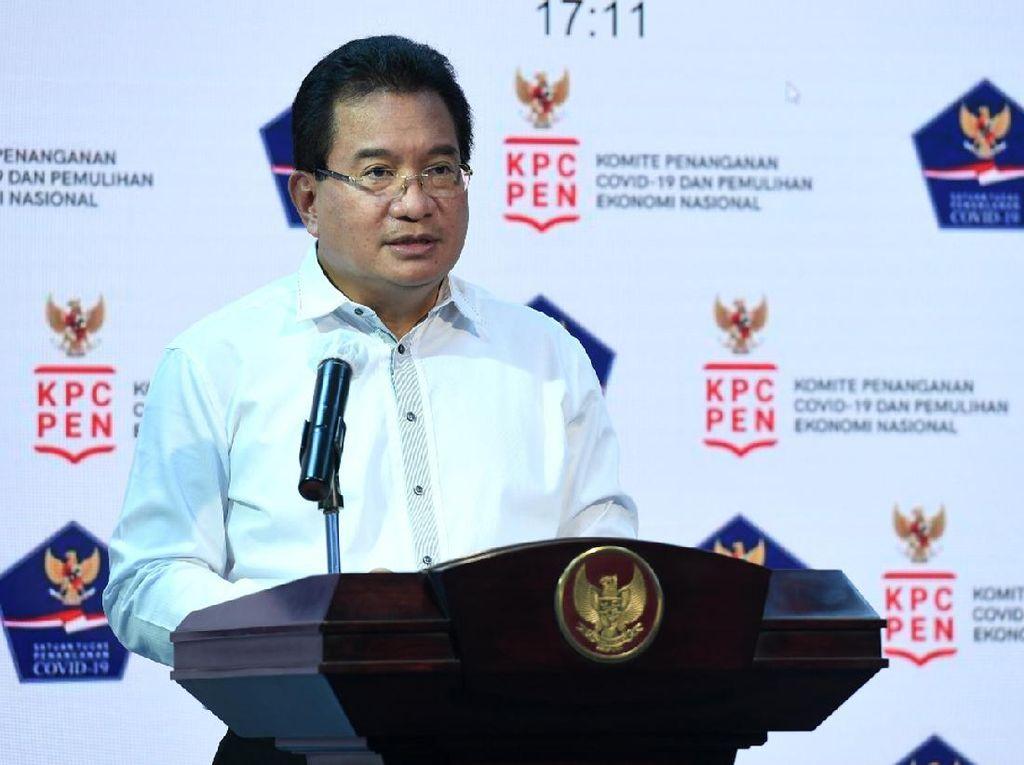 Satgas: Sebagian Besar Kabupaten/Kota Memiliki Kasus Aktif di Bawah 100