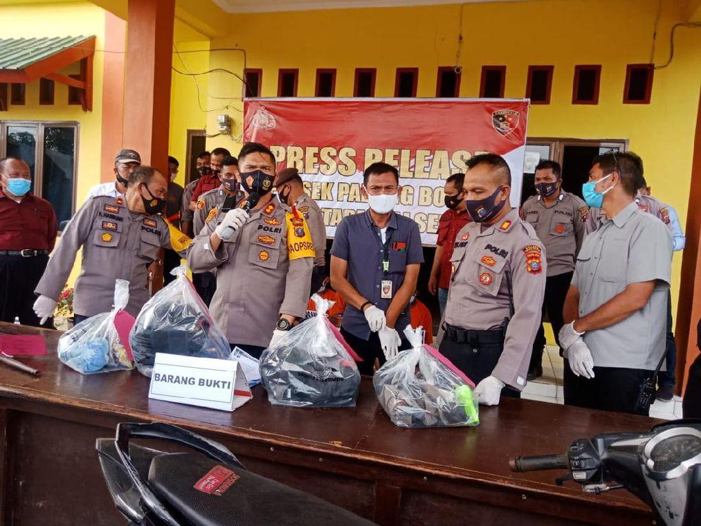 Rampok-Perkosa Korban Bergantian, 3 Pria di Tapsel Ditangkap Polisi