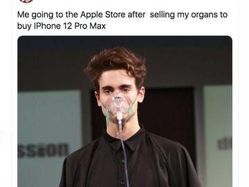 Meme Kocak iPhone 12, Jual Ginjal Sampai Anak iPhone 5