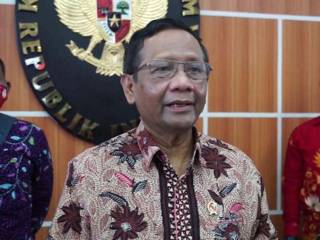 Pimpinan KPK Minta Jokowi Buat Perpres Supervisi, Mahfud: Sedang Proses