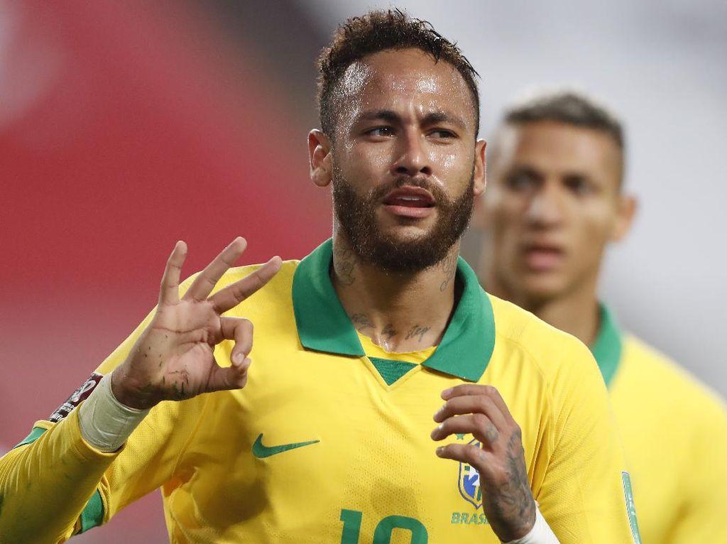 Lewati Rekor Ronaldo, Neymar Kini Cuma Kalah dari Pele