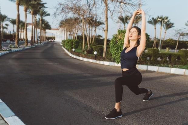 rajin olahraga agar perut tidak buncit