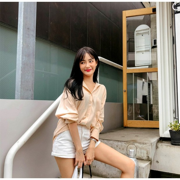 Kemeja Oversized ala Korean Look