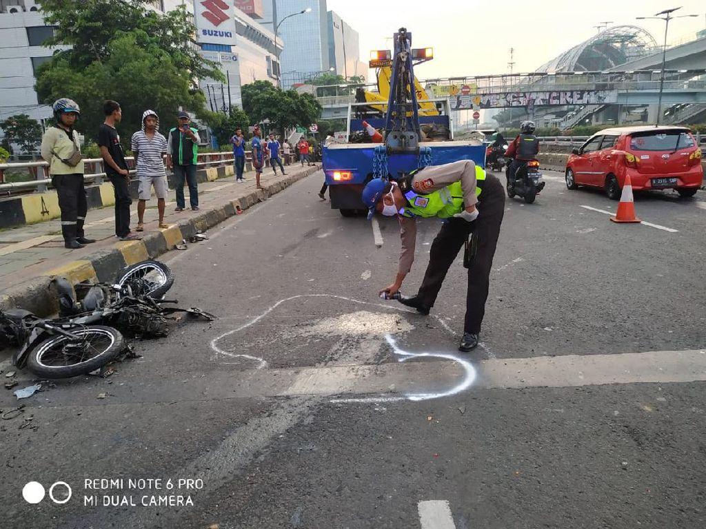 Dalam Dua Hari, Truk Muatan Hebel Kecelakaan di Jakarta, Kok Bisa?