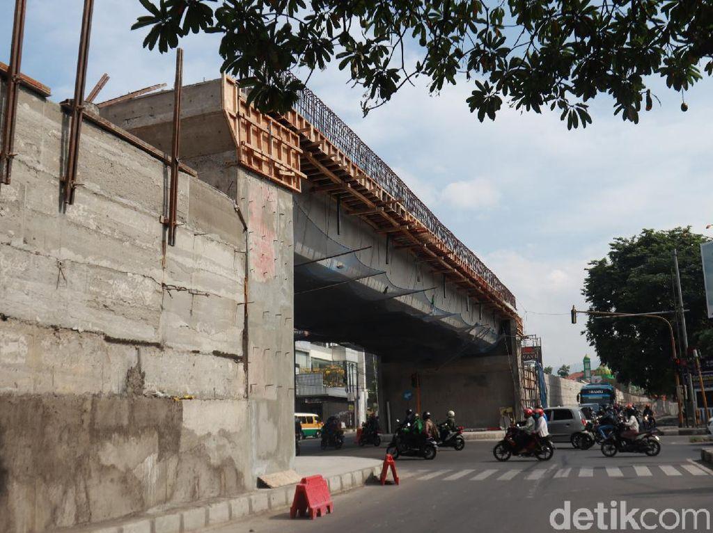 Penampakan Terkini Flyover Laswi Bandung