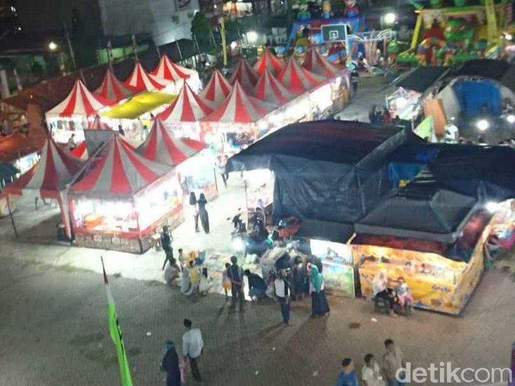 Curhat Pengusaha Pasar Malam di Kuningan 7 Bulan Nganggur Akibat Corona