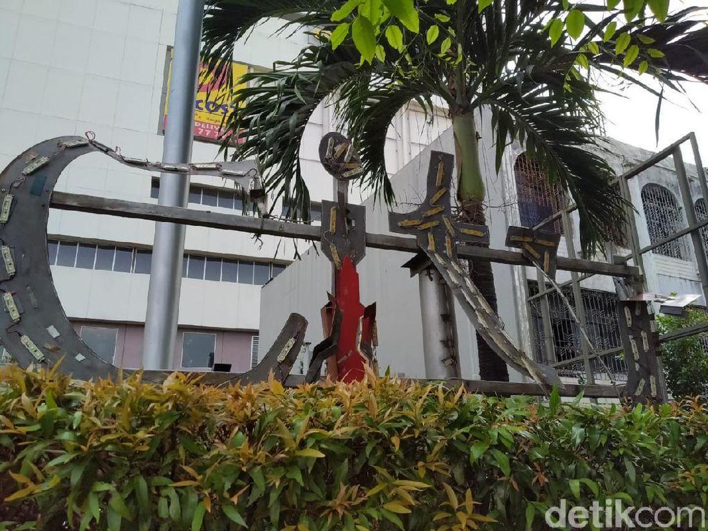 Mengintip Lagi Kerusakan Thamrin City yang Jadi Korban Rusuh Demo