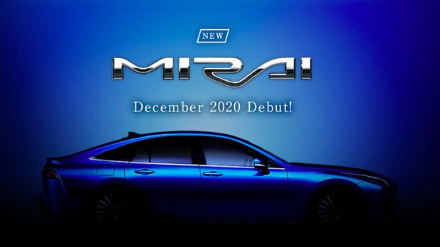 Generasi kedua Toyota Mirai meluncur Desember.