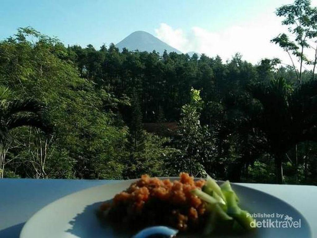 Mengintip Indahnya Pegunungan dari Penginapan di Pasuruan