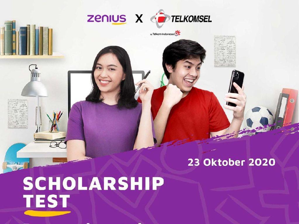 Dukung PJJ, Zenius dan Telkomsel Tawarkan Beasiswa Ratusan Juta