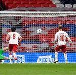 Inggris Vs Denmark: Maguire Kartu Merah, Tiga Singa Takluk di Wembley