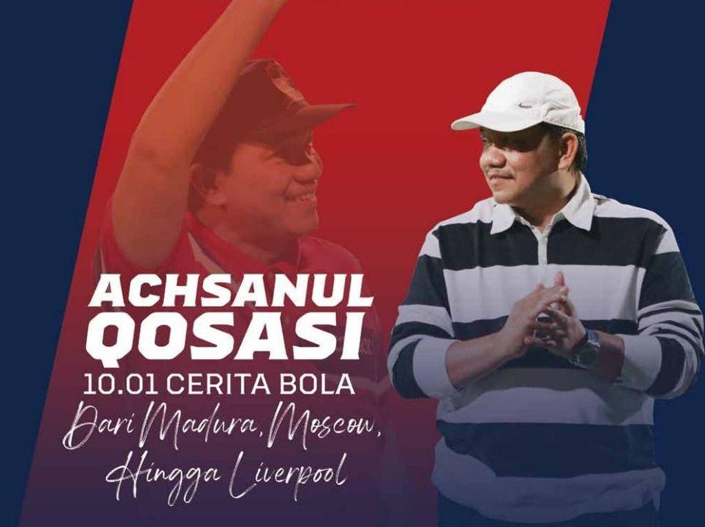 Presiden Madura United Luncurkan Buku Memoar Perjalanan di Sepakbola