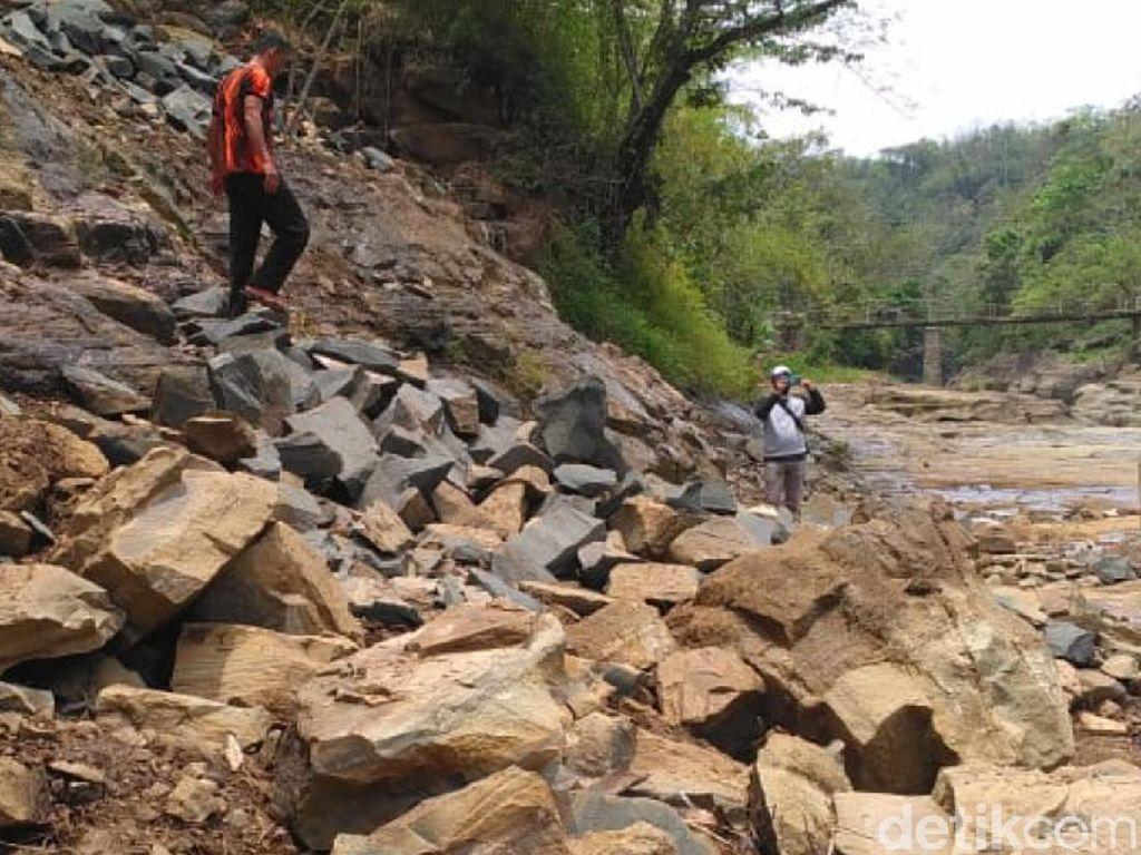 Aktivitas Tambang Batu di Cagar Alam Geopark Ciletuh Dihentikan!
