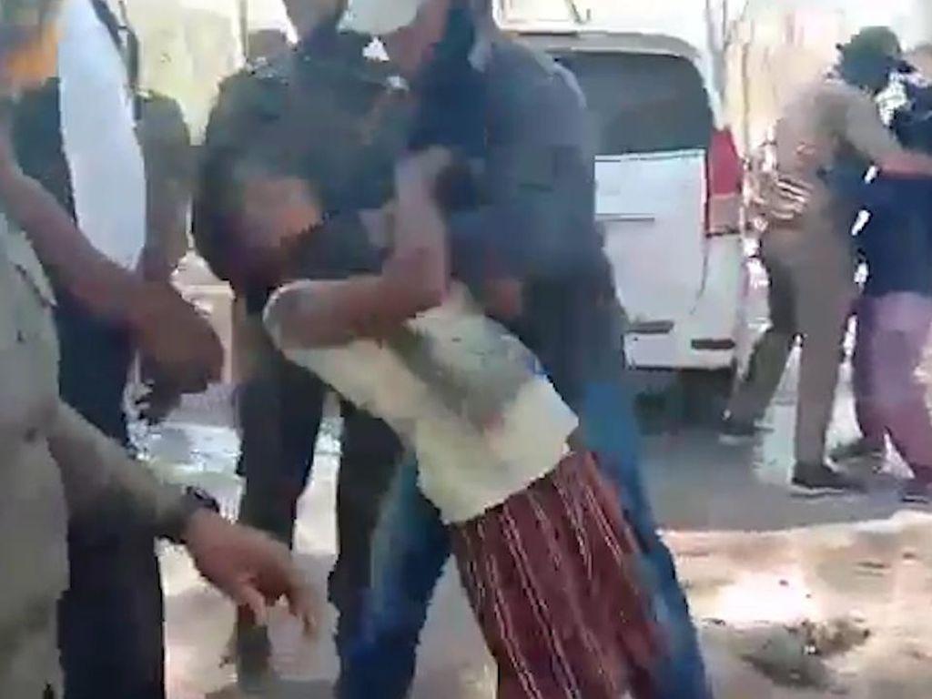 Wanita Dibanting Satpol PP di NTT, Polisi Jelaskan Penyebabnya