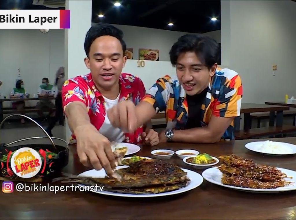 Bikin Laper!  Ikan Kuwe dan Udang Bakar Makassar yang Endol Banget