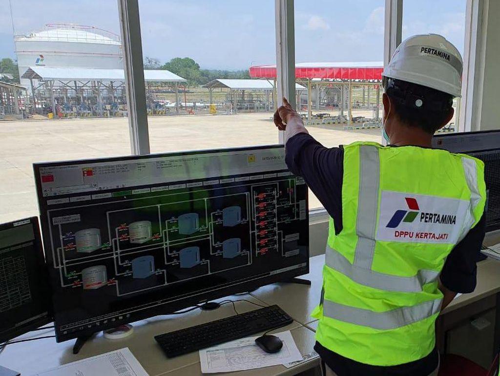 Pertamina Tambah Kapasitas Avtur hingga 6.000 KL di DPPU Bandara Kertajati
