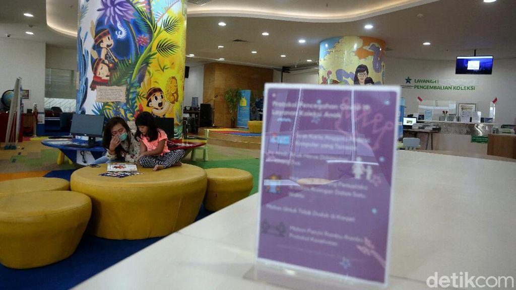 Jakarta Kembali PSBB Transisi, Perpustakaan Nasional Dibuka Lagi