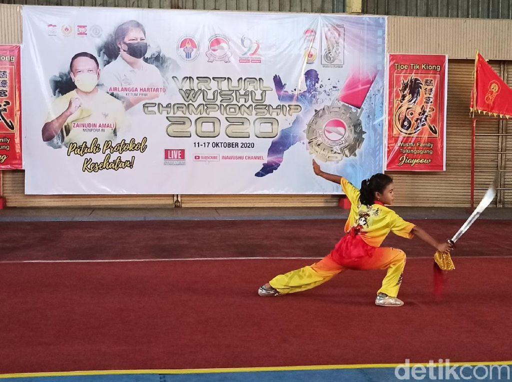 Menilik Kejuaraan Nasional Wushu yang Digelar Secara Virtual