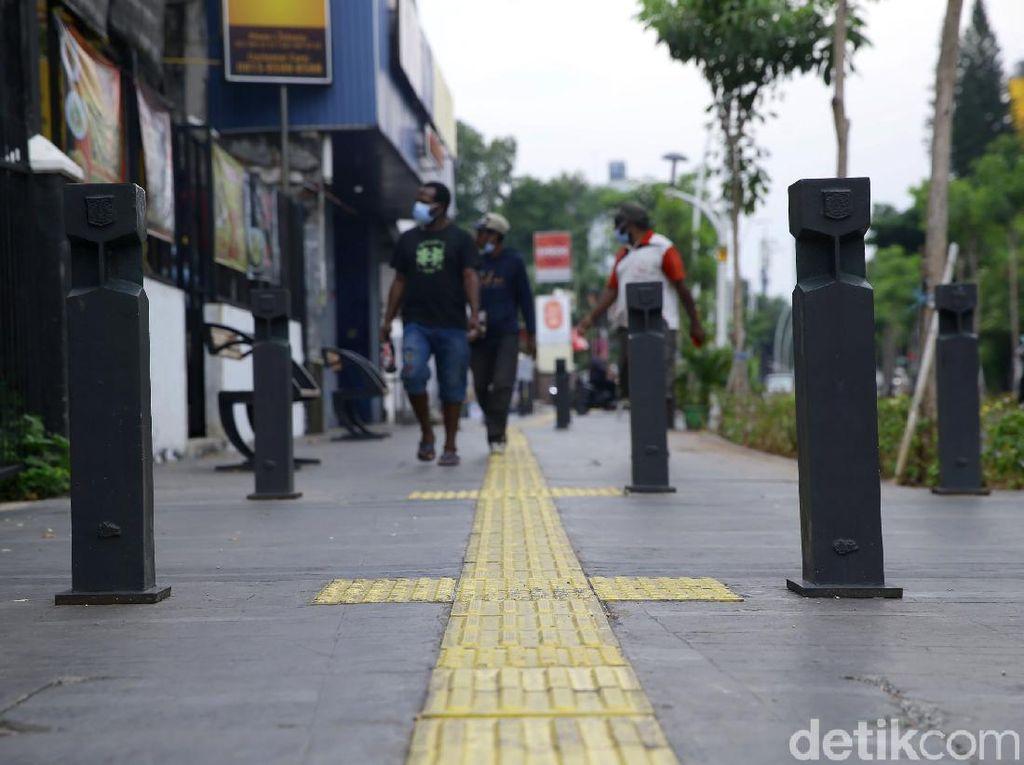 Tahun Ini, Pemprov DKI Targetkan Revitalisasi Trotoar Sepanjang 26 Km