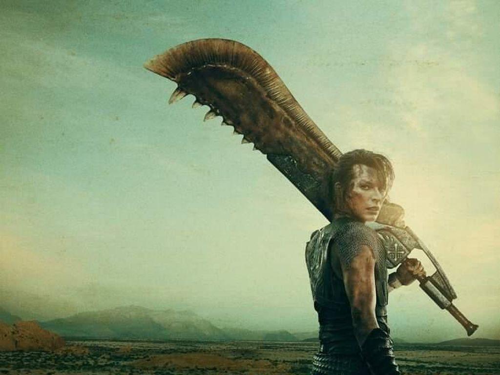 Milla Jovovich Lawan Makhluk Mengerikan di Monster Hunter