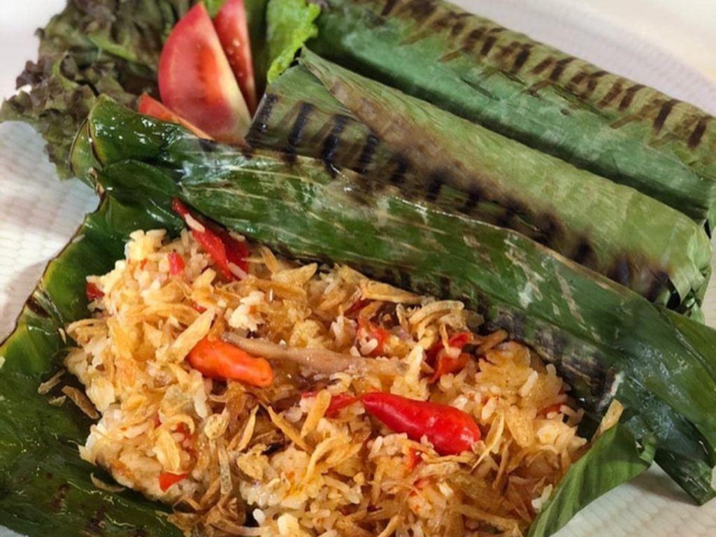 Masak Masak : Nasi Bakar Sumsum Sapi Khas Banten