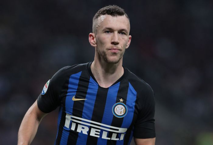 MILAN, ITALY - APRIL 27: Ivan Perisic of FC Internazionale looks on during the Serie A match between FC Internazionale and Juventus at Stadio Giuseppe Meazza on April 27, 2019 in Milan, Italy. (Photo by Emilio Andreoli/Getty Images)